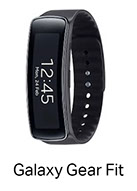 Samsung Galaxy Gear Fit Smart Watch